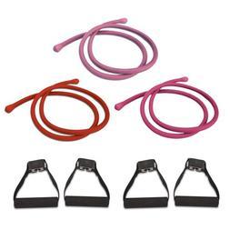 Beachbody P90X Comfort Grip Resistance Bands Workout Kit - S