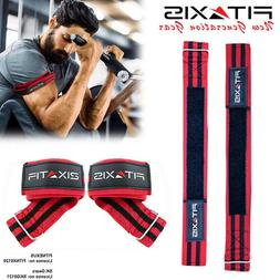 Pack Of 2 Occlusion Bands Training Belt Fitness Gym Red & Bl