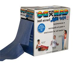 CanDo Perforated Exercise Band, Blue
