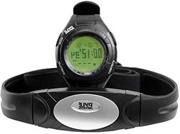 Pyle Advanced Pedometer with Heart Rate Monitor, Fitness Tra