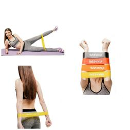 Pilates Flexbands Set Exercise Fitness Workout Sports Resist