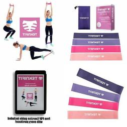 Teknifit PINK Resistance Bands Set For Women Premium 4 X 12""