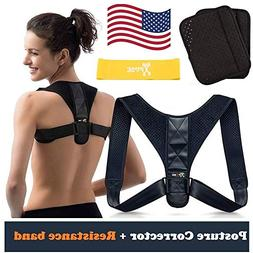 Posture Corrector for Men & Women by Xpose - Improved Design