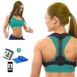 DaviSMART Posture Corrector for Women, Men and Kids ✮ Fron