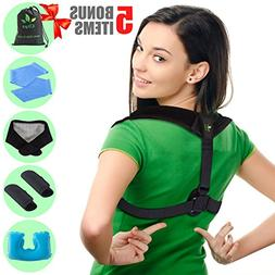 Posture Corrector - Upper Back and Neck Support for Natural