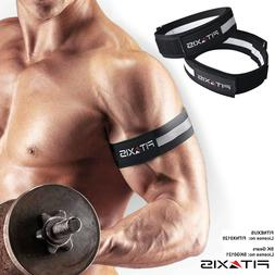 FITAXIS Pro Blood Flow Restriction Training Bands Arm Leg St