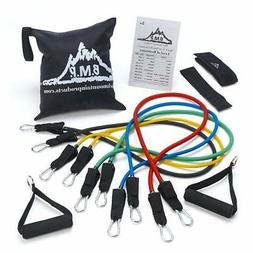 Products Resistance Band Set with Door Anchor Ankle Strap Ex