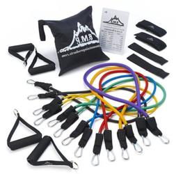 7 BAND SET Black Mountain Products Ultimate Resistance Band