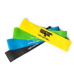 "Perform Better Exercise Mini Band, Set of 4 - All colors 9""x"