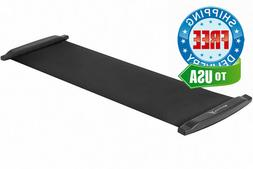 ProSource Slide Board Mat for Exercise 6' with End Stops,