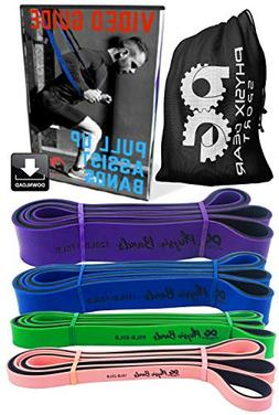 Pull Up Assistance Bands - Best Resistance Loop Bands Set fo