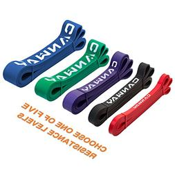 CANWAY Pull Up Assist Bands, Stretch Resistance Bands - Heav