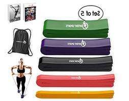 INTENT SPORTS Pull up Assist 5 Bands Set – Assistance and