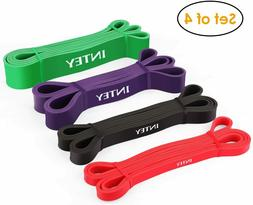 INTEY Pull up Assist Band Resistance Bands for Body Stretchi