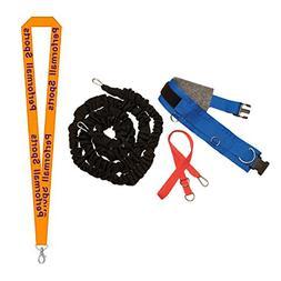 Champion Sports All-Purpose Resistance Belt Set Assorted Bun