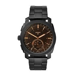 Fossil Q Men's Machine Stainless Steel Hybrid Smartwatch, Co