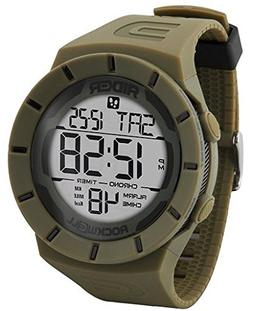 Rockwell Time RCP-120 Coliseum Pedometer Digital Dial Watch,