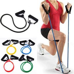 Red Resistance Band Fitness Exercise Latex Band Yoga Stretch