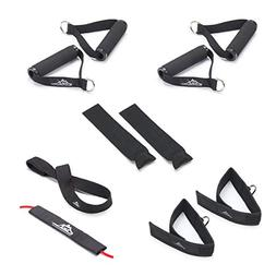 Black Mountain Professional Resistance Band Accessory Kit