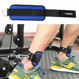 D-ring Ankle Strap Foot Power Training Leg Weight Lifting Fi