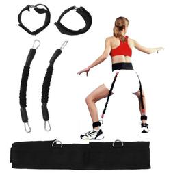 Resistance Band Fitness Bounce Trainer Rope Jump Leg Strengt