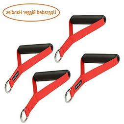 WEINAS Resistance Band Handles, 4 Count