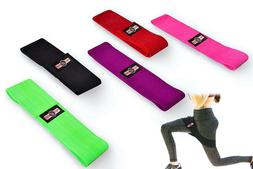 FIGHTSENSE Resistance Band Hip Circle Fitness Loop Peach Boo