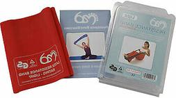 Fitness Mad Resistance Band Light & User Guide Red