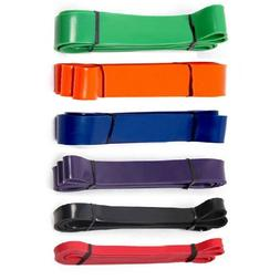 Resistance Band Loop Set Crossfit Strength Pull Up Gym Train