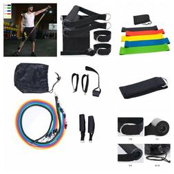 Resistance Band Set 11 Pcs Full Body Exercise Fitness Home T