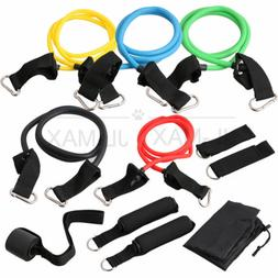 Resistance Band Set 11 Pcs with Exercise Tube Bands Door Anc