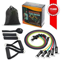 SMAID Premium Resistance Band Set - Include 5 Stackable Exer