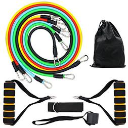 Ailemi Resistance Band Set,Multifunctional and Multicolored