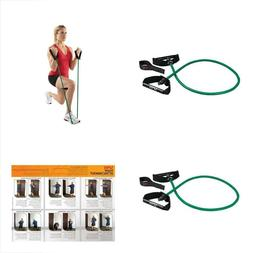resistance band w door attachment yellow extra