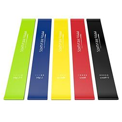 Semx Resistance Bands,  Exercise Bands with E-Book/User Guid