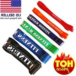 FITNESS MANIAC Resistance Bands Rubber Stretch Elastic Strap