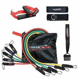 resistance bands 11pc set with door anchor