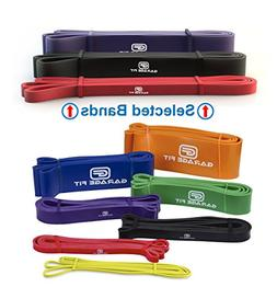 Garage Fit Resistance Bands for Pull Ups, Weightlifting Resi