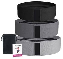 Resistance Bands - 3 Piece Set with Mesh Bag