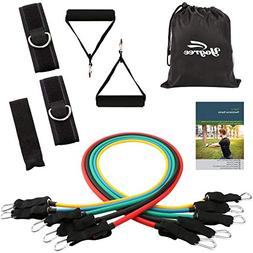 yogree Resistance Band Set - 12 Pack Set Include 5 Stackable