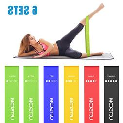 LETSCOM Resistance Bands, Latex Exercise Loop Bands for Stre