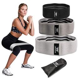 WOOSL Resistance Bands Exercise Bands for Legs and Butt,Hip