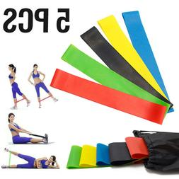 Resistance Bands Exercise Fitness Workout Sports Home Gym Yo