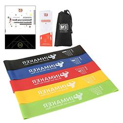 INMAKER Resistance Bands, Exercise Loop Bands for Legs and B
