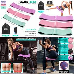 Resistance Bands Exercise Loop Fabric Band For Legs & Butt Y