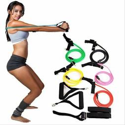 Resistance Bands Fitness Exercise Band Workout Yoga Gym Rubb
