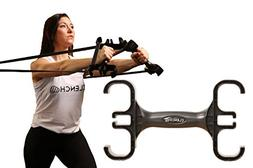 Clench Resistance Bands Handle & Storage Device - Perfect Er
