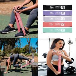 Sports Research Resistance Bands ~ Set of 5 | Heavy Duty Exe