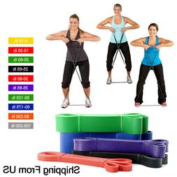 Pull Up Resistance Body Stretching Band Loop Power Gym Exerc