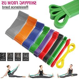 Pull Up Resistance Body Stretching Band Loop Power Gym Fitne